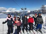 Grüße von den Skifahrern in Goldeck