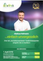 Gedächtnistraining mit Markus Hofmann am 1. April 2019